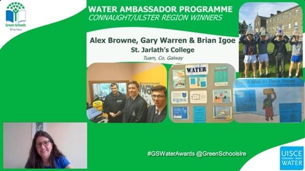 Green School Water award winners