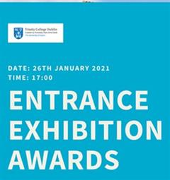 Trinity College Dublin Entrance Exhibition Award