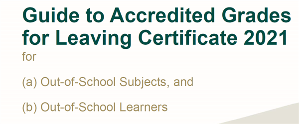 Out of school subjects - Accredited Grade Guide